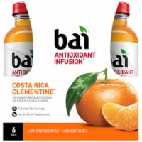 Bai Costa Rica Clementine Antioxidant Infused Beverage 6 x 18 fl oz