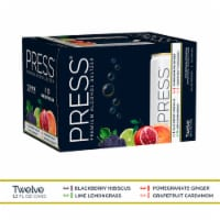 PRESS Hard Seltzers Variety Pack - 12 cans / 12 fl oz