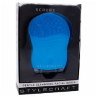 Scrubs Gentle Cleansing Facial Brush - Blue by StyleCraft for Unisex - 1 Pc Brush - 1 Pc