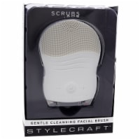 Scrubs Gentle Cleansing Facial Brush - Gray by StyleCraft for Unisex - 1 Pc Brush - 1 Pc