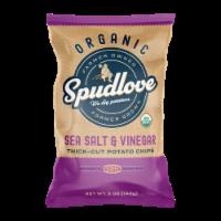 SpudLove Sea Salt & Vinegar Thick-Cut Potato Chips
