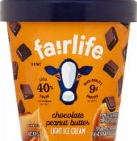 Fairlife Chocolate Peanut Butter Light Ice Cream