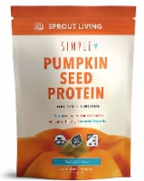 Sprout Living  Simple Organic Pumpkin Seed Protein Powder   Original