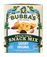 Bubba's Grain Free Savory Original Snack Mix