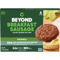 Beyond Meat Classic Breakfast Sausage Patties 6 Count