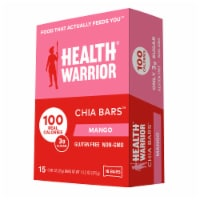 Health Warrior Mango Chia Bars 15 Count