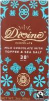 Divine 38% Cocoa Milk Chocolate with Toffee & Sea Salt