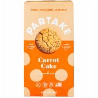 Partake Foods Carrot Cake Cookies - 5.5 oz