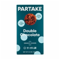 Partake Foods Double Chocolate Chip Cookies