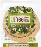 BFree Wheat & Gluten Free Multigrain Wraps
