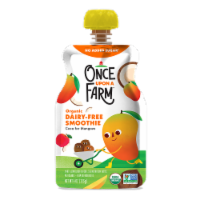 Once Upon a Farm Organic Coco for Mangoes Kids Dairy-Free Smoothie