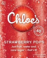 Chloe's Strawberry Pops 4 Count