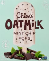 Chloe's Oatmilk Mint Chip Frozen Dessert Pops