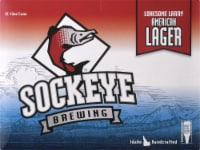 Sockeye Brewing Lonesome Larry Lager Beer