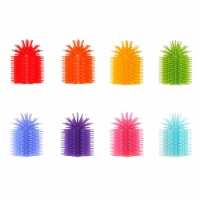 Spike Toys 2021553 Fidget Pencil Topper, Assorted Color - Set of 8 - 1