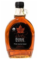 Rocky Ridge Maple  Pure Maple Syrup Grade A   Amber Rich