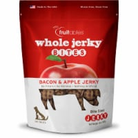 Fruitables Whole Jerky Bites Bacon & Apple Jerky Dog Treats - 12 oz