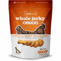 Fruitables Whole Jerky Bites Chicken & Sweet Potato Jerky Dog Treats