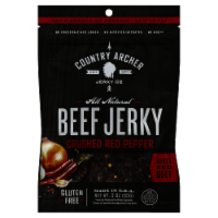 Country Archer Beef Jerky Crushed Red Pepper