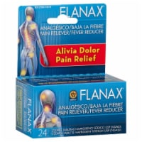 Flanax Pain Reliever Tablets - 24 Count