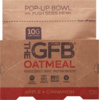 the GFB Apple Cinnamon Oatmeal Pop Up Bowl