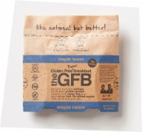 The Gluten Free Bar Breakfast Maple Raisin Oatmeal