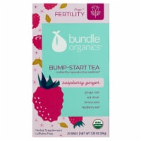 Bundle Organics Stage 1 Fertility Raspberry Ginger Bump-Start Tea