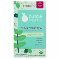 Bundle Organics Stage 1 Fertility Peppermint Leaf Bump-Start Tea Bags
