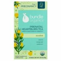 Bundle Organics Rooibos Prenatal Heartburn Tea Bags