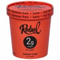 Rebel Cherry Chip Ice Cream