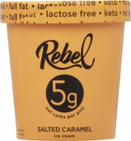 Rebel Salted Caramel Ice Cream