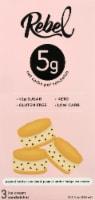 Rebel Double Peanut Butter Fudge Ice Cream Sandwiches