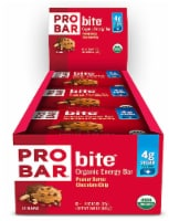 Pro Bar Bite Peanut Butter Chocolate Chip Organic Energy Bar - 12 ct / 1.3 oz