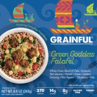 Grainful Green Goddess Falafel