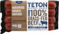 Teton Waters Ranch Hardwood Smoked Beef Sausage