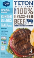 Teton Waters Ranch Sea Salt and Cracked Pepper Beef Burger Blends