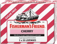 Fisherman's Friend Sugar Free Cherry Cough Suppressant Lozenges