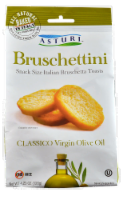 Asturi Bruschettini Classico Virgin Olive Oil Toast