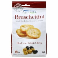 Asturi Bruschettini Black and Green Olives