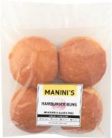 Manini's Gluten Free Hamburger Buns - 4 ct / 12.8 oz