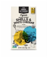 Good Citizens Organic Whole Wheat Shells & White Cheddar Pasta Dinner