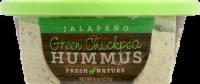 Fresh Nature Green Chickpea Jalapeno Hummus