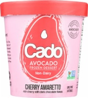 Cado Non-dairy Cherry Amaretto Frozen Dessert