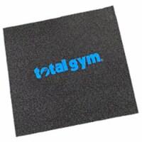Total Gym 20 x 22 Inch Safety & Stability Under Workout Machine Gym Floor Mat - 1 Piece