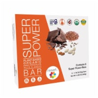 Organic Plant Based Protein Bar - Dark Chocolate - Box of 8 - Box 8 / Bars