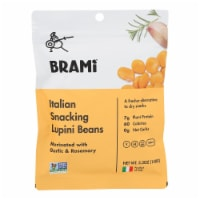 Brami Lupini Snack - Garlic and Herb - Case of 8 - 5.3 oz. - Case of 8 - 5.3 OZ each