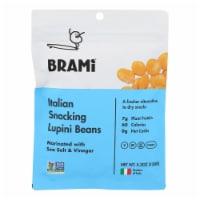 Brami Lupini Snack - Sea Salt - Case of 8 - 5.3 oz. - Case of 8 - 5.3 OZ each