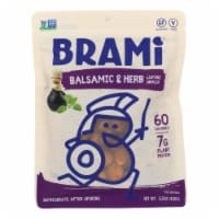 Brami Lupini Snack - Balsamic and Herb - Case of 8 - 5.3 oz. - Case of 8 - 5.3 OZ each