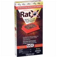 RatX Pre-Measured Bait Trays - 2 pk