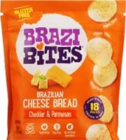 Brazi Bites Cheddar & Parmesan Brazilian Cheese Bread